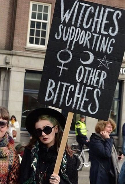 Witches Supporting Other Bitches