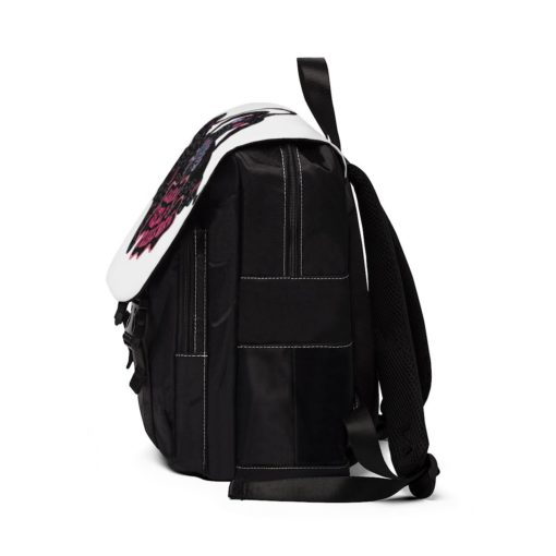 side view Learn Self Pleasure Shoulder Backpack