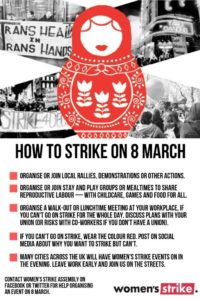 Women's Strike step by step