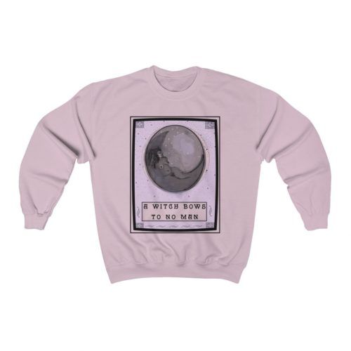 b6ab7160 A Witch Bows To No Man | Sweatshirt